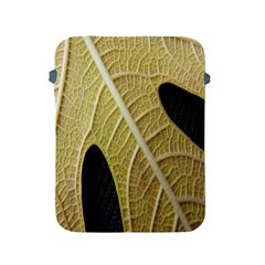 Yellow Leaf Fig Tree Texture Apple iPad 2/3/4 Protective Soft Cases