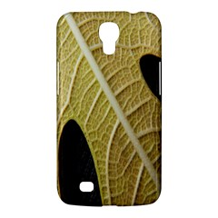 Yellow Leaf Fig Tree Texture Samsung Galaxy Mega 6.3  I9200 Hardshell Case