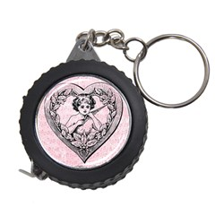 Heart Drawing Angel Vintage Measuring Tapes