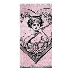 Heart Drawing Angel Vintage Shower Curtain 36  x 72  (Stall)