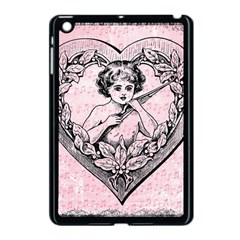 Heart Drawing Angel Vintage Apple iPad Mini Case (Black)