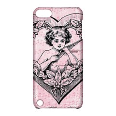 Heart Drawing Angel Vintage Apple Ipod Touch 5 Hardshell Case With Stand