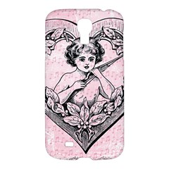 Heart Drawing Angel Vintage Samsung Galaxy S4 I9500/I9505 Hardshell Case