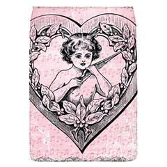 Heart Drawing Angel Vintage Flap Covers (S)