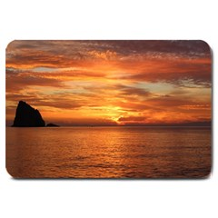 Sunset Sea Afterglow Boot Large Doormat