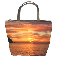 Sunset Sea Afterglow Boot Bucket Bags