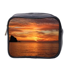 Sunset Sea Afterglow Boot Mini Toiletries Bag 2-Side