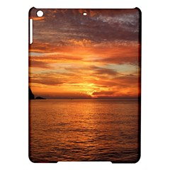 Sunset Sea Afterglow Boot iPad Air Hardshell Cases