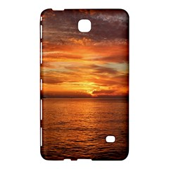 Sunset Sea Afterglow Boot Samsung Galaxy Tab 4 (8 ) Hardshell Case