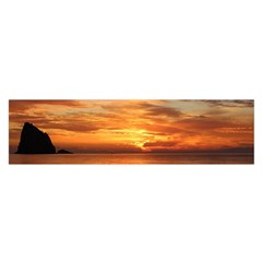 Sunset Sea Afterglow Boot Satin Scarf (Oblong)