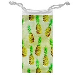 Pineapple Wallpaper Vintage Jewelry Bag