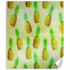 Pineapple Wallpaper Vintage Canvas 20  x 24