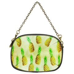 Pineapple Wallpaper Vintage Chain Purses (One Side)