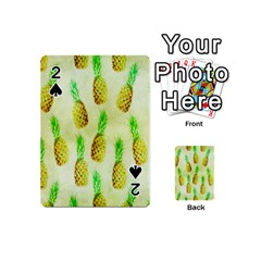 Pineapple Wallpaper Vintage Playing Cards 54 (Mini)