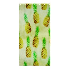 Pineapple Wallpaper Vintage Shower Curtain 36  x 72  (Stall)