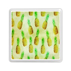 Pineapple Wallpaper Vintage Memory Card Reader (Square)