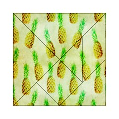 Pineapple Wallpaper Vintage Acrylic Tangram Puzzle (6  X 6 )