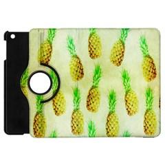 Pineapple Wallpaper Vintage Apple iPad Mini Flip 360 Case