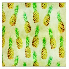 Pineapple Wallpaper Vintage Large Satin Scarf (Square)