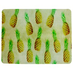 Pineapple Wallpaper Vintage Jigsaw Puzzle Photo Stand (Rectangular)
