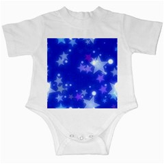 Star Bokeh Background Scrapbook Infant Creepers