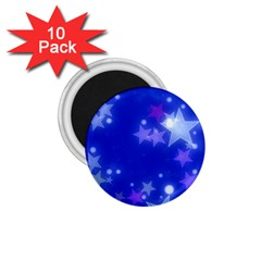 Star Bokeh Background Scrapbook 1.75  Magnets (10 pack)