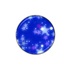 Star Bokeh Background Scrapbook Hat Clip Ball Marker