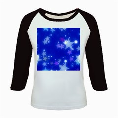 Star Bokeh Background Scrapbook Kids Baseball Jerseys