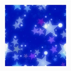Star Bokeh Background Scrapbook Medium Glasses Cloth