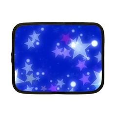 Star Bokeh Background Scrapbook Netbook Case (Small)