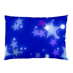 Star Bokeh Background Scrapbook Pillow Case