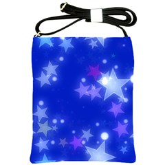Star Bokeh Background Scrapbook Shoulder Sling Bags