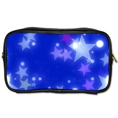 Star Bokeh Background Scrapbook Toiletries Bags 2-Side
