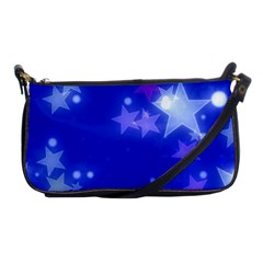 Star Bokeh Background Scrapbook Shoulder Clutch Bags