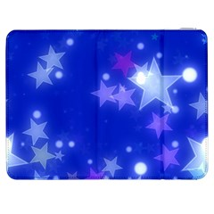 Star Bokeh Background Scrapbook Samsung Galaxy Tab 7  P1000 Flip Case