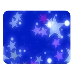 Star Bokeh Background Scrapbook Double Sided Flano Blanket (large)