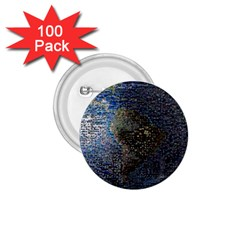 World Mosaic 1.75  Buttons (100 pack)
