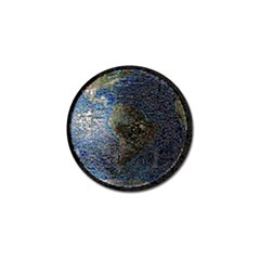 World Mosaic Golf Ball Marker (10 pack)