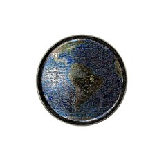 World Mosaic Hat Clip Ball Marker (4 Pack)