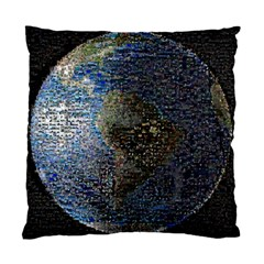 World Mosaic Standard Cushion Case (Two Sides)