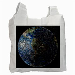 World Mosaic Recycle Bag (One Side)