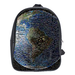 World Mosaic School Bags(Large)