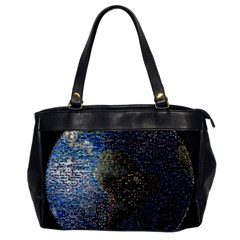 World Mosaic Office Handbags