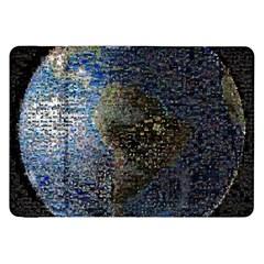 World Mosaic Samsung Galaxy Tab 8 9  P7300 Flip Case