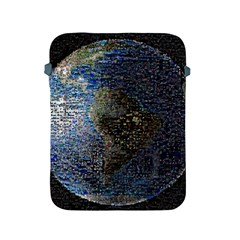 World Mosaic Apple Ipad 2/3/4 Protective Soft Cases