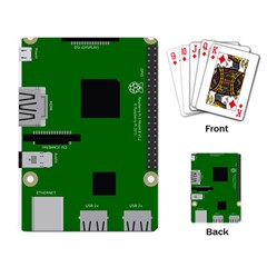 Raspberry Pi 3 Vector Playing Card