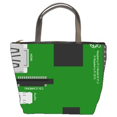 Raspberry Pi 3 Vector Bucket Bags