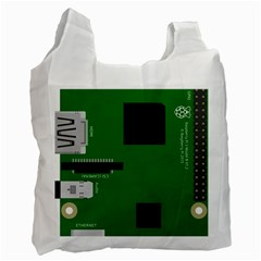 Raspberry Pi 3 Vector Recycle Bag (Two Side)
