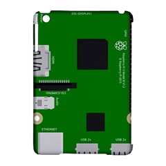 Raspberry Pi 3 Vector Apple iPad Mini Hardshell Case (Compatible with Smart Cover)