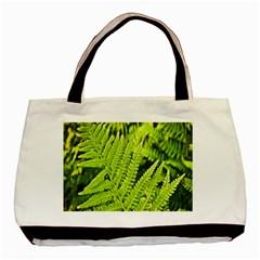 Fern Nature Green Plant Basic Tote Bag